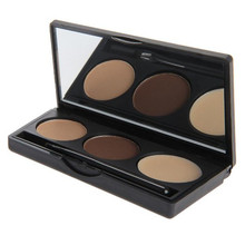 Wholesale Make Up Private Label Eyebrow Powder 3 Colors Eyebrow Powder Palette