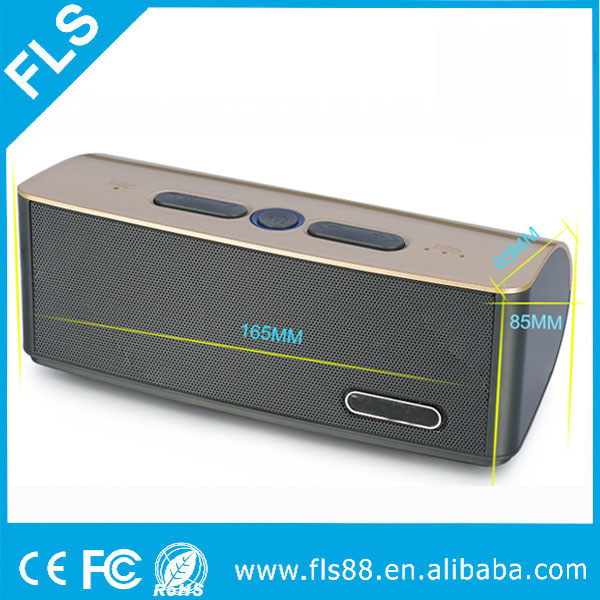 New Bluetooth Speaker Wireless Portable Subwoofer Sound Box Loud Stereo 6W Speaker with FM TF/USB slot
