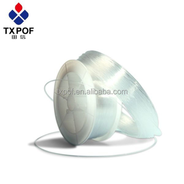 0.75mm Side Glow Fibers with Points 2700m per Roll Side Emitting fiber