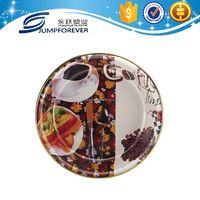 Wholesale cheap plastic charger plates trays for wedding party plate