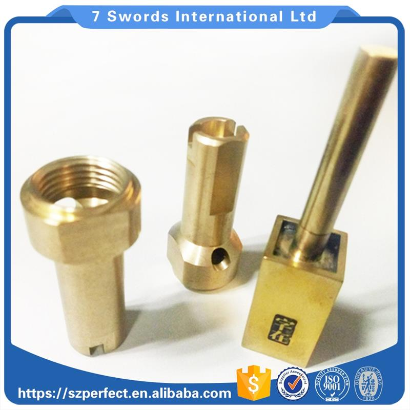 High quality metal precision custom cnc small turning parts and 3d printer brass nozzle