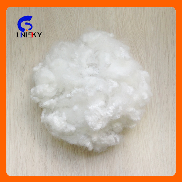 Cushion filling material Virgin non silicone polyester staple fiber 15D