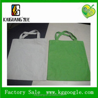recycled cheap 8oz blank cotton tote bag for promotion/recycled organic cotton bag with high quality