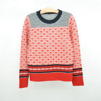 Knitwear wool children fashion sweater design for boys