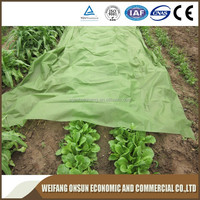 spunbond nonwoven green color nonwoven vegetable plant cover