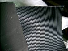 ribbed rubber strip