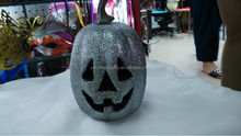 2014 hot selling ghost face pumpkin for Halloween decoration