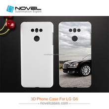 DIY 3D Sublimation Case Blank Cell Phone Cover For LG G6