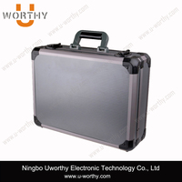 china oem manufacturer low price lightweight portable carrying aluminum briefcase tool box