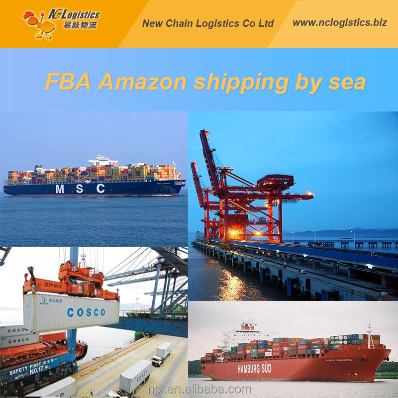 amazon cargo shipping by sea from Shenzhen