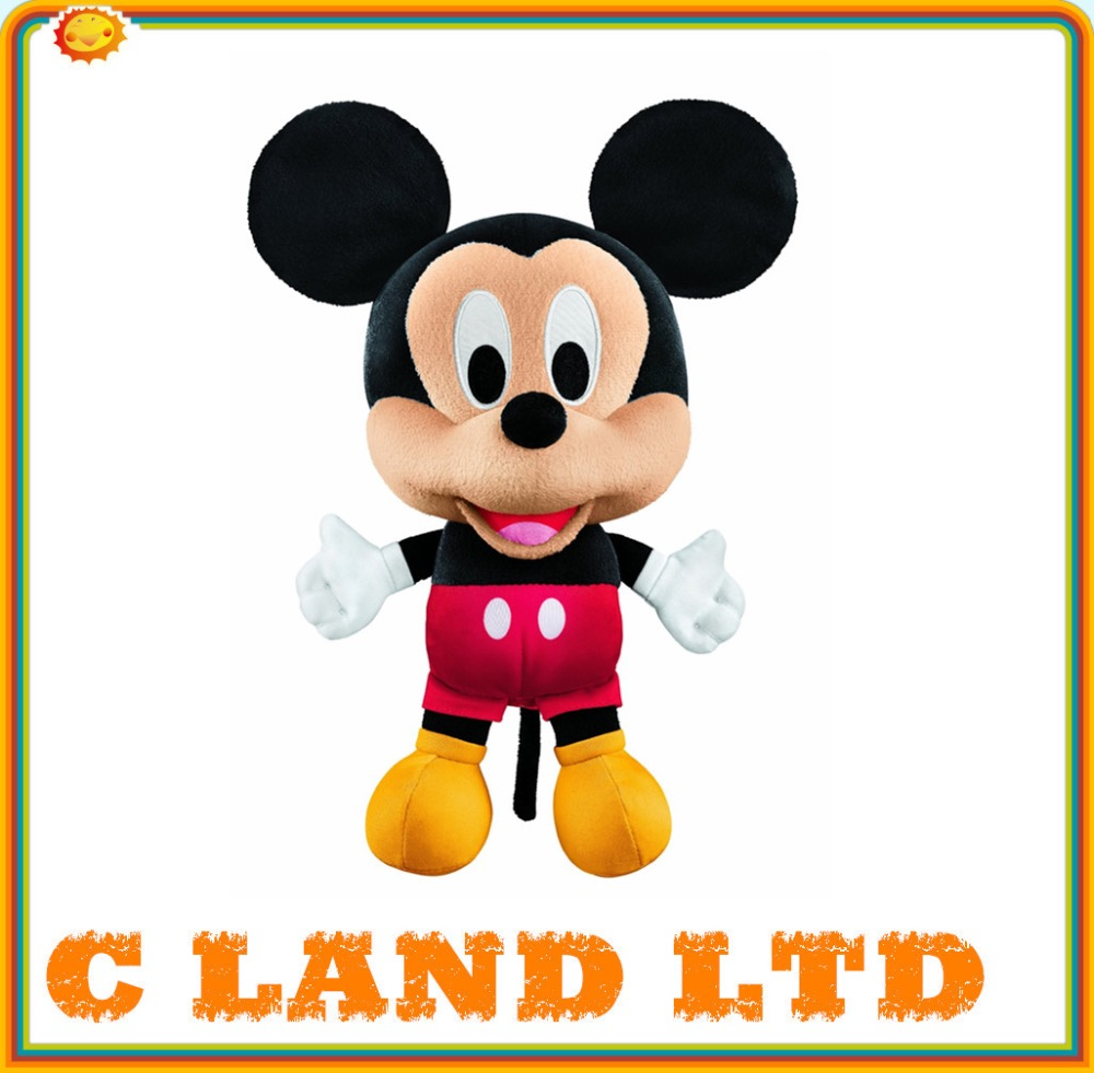 Customized soft toy big head mickey mouse