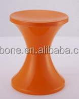 Wholesale high quality small round PP plastic folding chair round stool