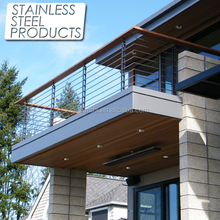 China cheap stainless steel modern banisters and handrails