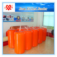 Eco-friendly CCS certified with various colors polyurethane foam filled fender