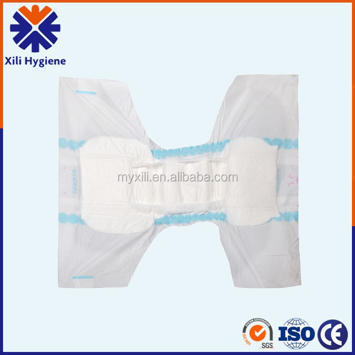 Free Adult Diaper Sample, High Absorbency Disposable Cheap Adult Diaper for Old People