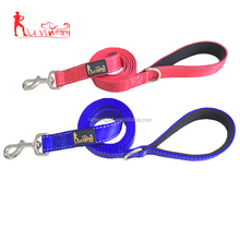 6 ft Long 0.1 Inch thick Extra Heavy Reflective Durable neoprene Padded Handle nylon Dog Leash