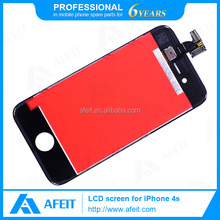 mobile phone lcd for iphone 4s lcd digitizer complete