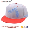 Cheap plain snapback hats customed
