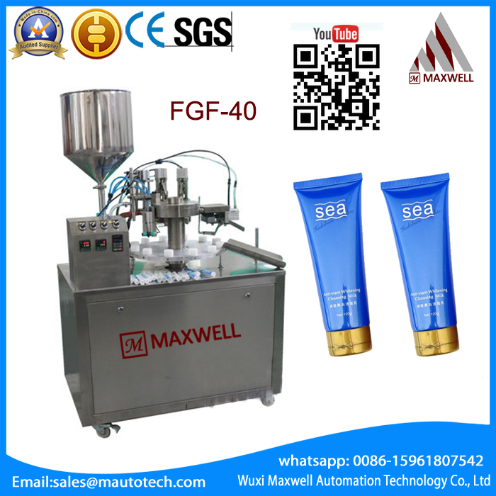 Steam heating mixing agitator pharmaceutical filling and sealing manual cosmetic tubes filling machines