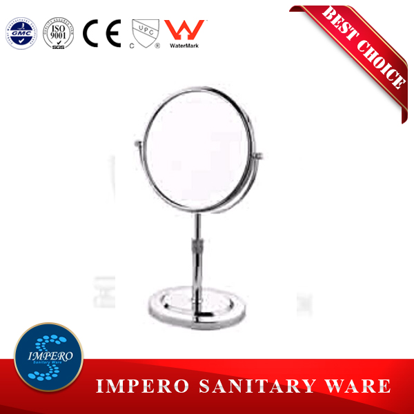 IMPERO mirror glass two way wall mounted vanity makeup mirror