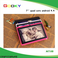 lowest price android 4.4 wifi quad core 7 inch andriod tablet