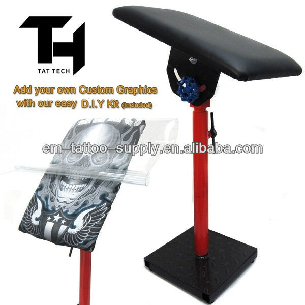 Heavy Duty Fully Adjustable Tattoo Armrest -3