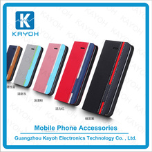 [kayoh] hot selling pu leather universal flip phone case for LG K7 Mobile Phone Case