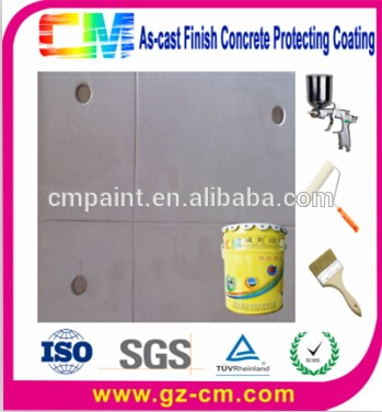 Fair-Faced Concrete Wall Coating As Cast Finish Concrete Protective Wall Paint