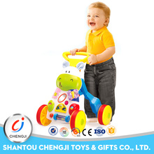 High quality plastic unique new model baby walker with music