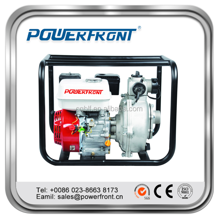 High Quality centrifugal self priming 2 Inch high lift gaosline water pump