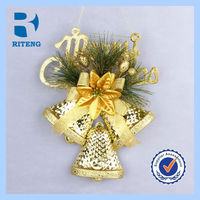 kids gift christmas decoration silver bronze jingle bell