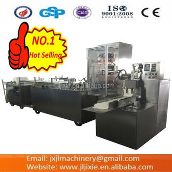 JL-Z400 Automatic Malposed Aviation Paper Towel Folding Cutting Machine