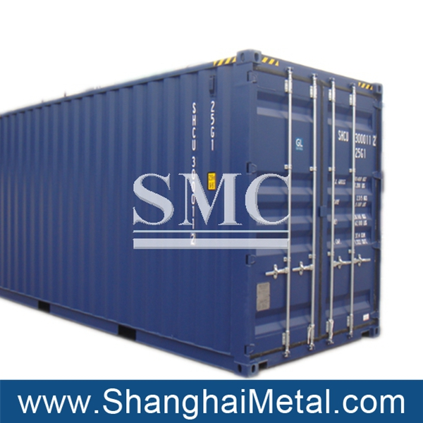 40 feet high cube container and 40ft shipping container