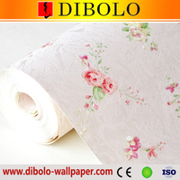Classic house decoration beautiful PVC wallpaper with a pattern of bamboo