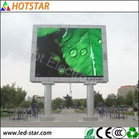 outdoor P10 Led sign board video wall monitors high resolution from China