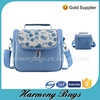 Kid cooler picnic blue print outdoor fitness bag