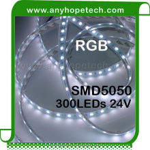 Cheap promotional 72W DC24V IP67 rgb waterproof flexible led strip 5050
