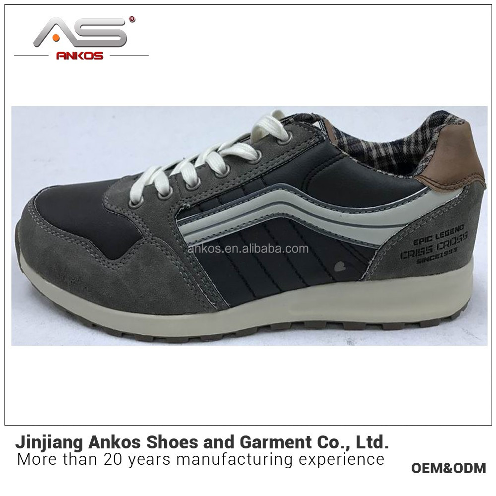 casual shoes men to relax time soft sole breathable upper in jinjiang factory