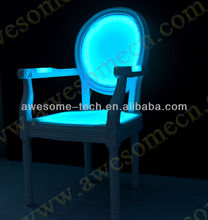 outdoor llighting armchair / led bar chair