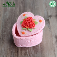 Nice Heart Shape Jewellery Silicone Rubber Mould