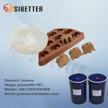 Food Grade Liquid Silicone Rubber For Chocolate Mold Making, Factory Price