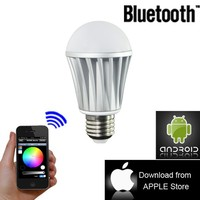 World First 1 Million Color Bluetooth Bulb