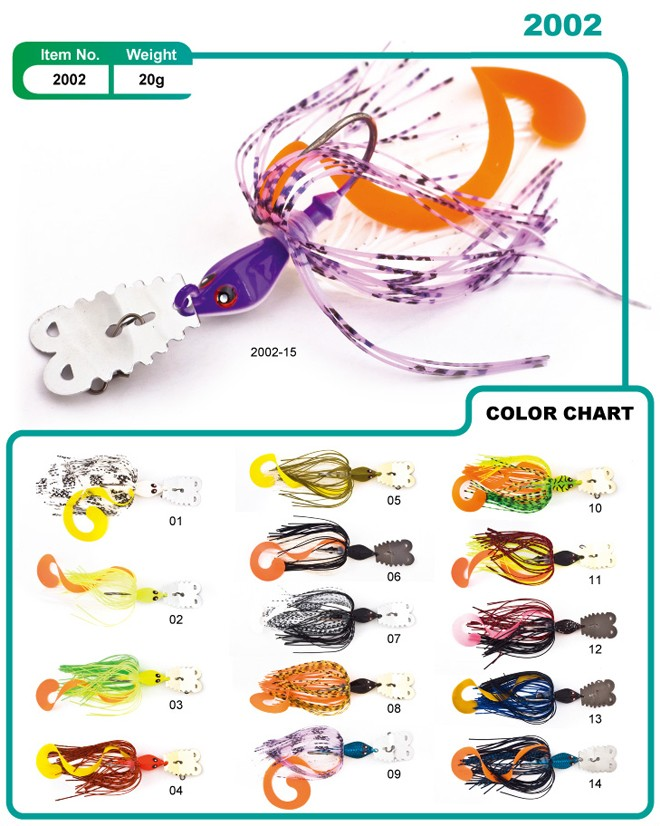 2017 newest model metal lure