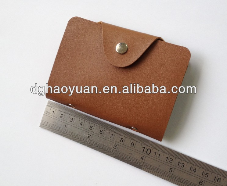 Leather namecard bag,business card case-HYMP601