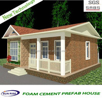 luxury cheap and quick assembled cheap wood house green house with SGS testing