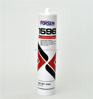 High Intensity 596 Red RTV Silicone Sealant 310ml High Temperature