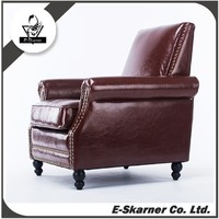 E-Skarner high quality royal treasures leather leisure coffee sofa