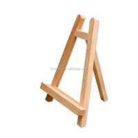 Desk Stand Mini Wood Triangle Easel