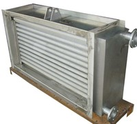 Stainless steel customizable spiral heat exchanger for timber drier