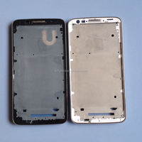 Cover Frame For LG G2 D802 D805 D801 Front A Frame Mobile Phone Bezel Faceplate Housing Frame Assembly Parts